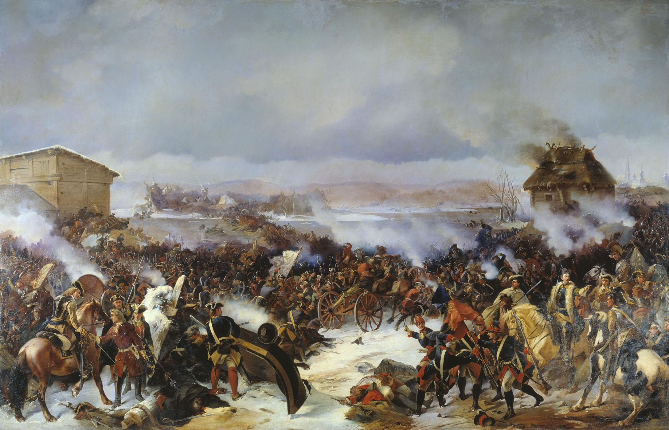 Битва при Нарве, А. Е. Коцебу