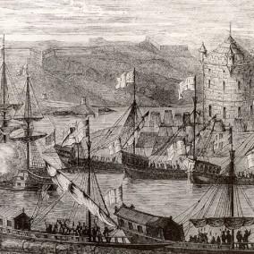 Взятие Азова. 1696 год. Адриан Шхонебек