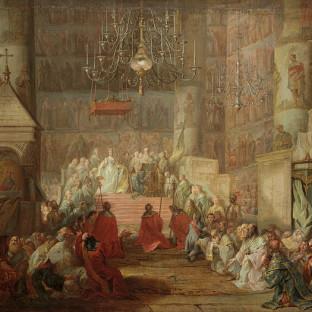 Коронование Екатерины II, Стефано Торелли