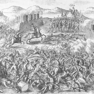 Битва при Кунерсдорфе, автор неизвестен