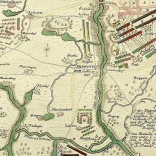 Битва при Кунерсдорфе, карта-схема 2