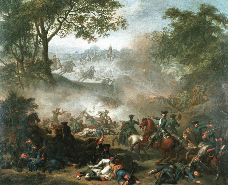 Битва при Лесной, Жан-Марк Натье