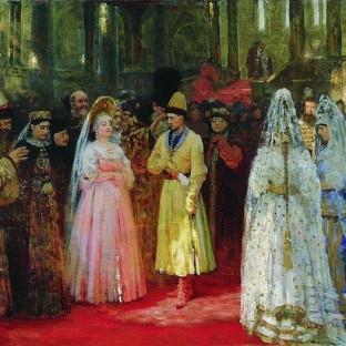Выбор великокняжеской невесты, Илья Ефимович Репин
