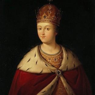 Портрет царевны Софьи, неизвестный художник