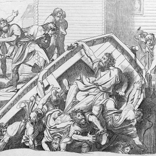 Мщение Ольги против идолов древлянских, Федор Антонович Бруни