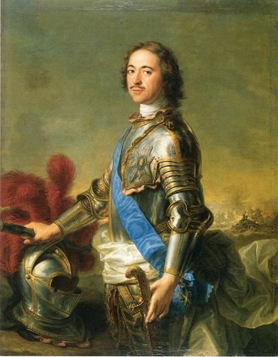 Царь Петр I, Жан-Марк Натье