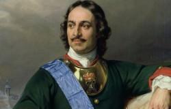 Портрет Петра I, Поль Деларош