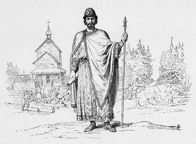 Великий князь Юрий Владимирович Долгорукий, Василий Петрович Верещагин