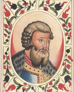 Всеволод III Юрьевич, миниатюра из «Царского титулярника»