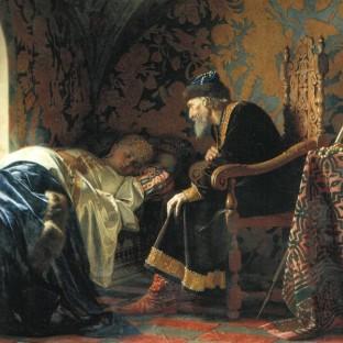 Иван Грозный любуется Василисой Мелентьевной, Григорий Семенович Седов