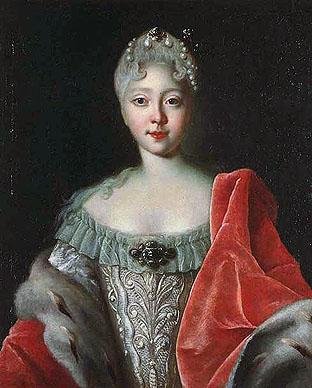 Портрет юной Елизаветы, Луи Каравак