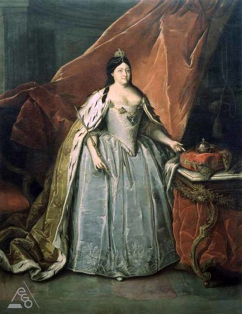 Портрет императрицы Анны Иоанновны, Генрих Бухгольц