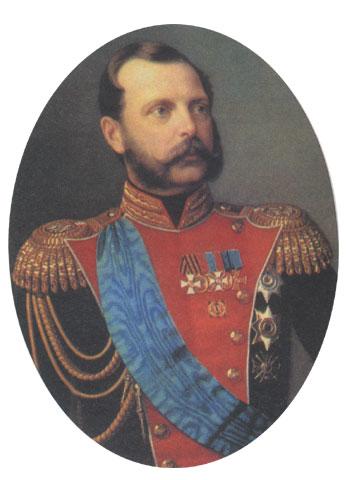 Александр II в мундире лейб-гвардии саперного батальона, Н. А. Лавров