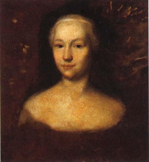 Портрет принцессы Анны Леопольдовны, Андрей Матвеевич Матвеев