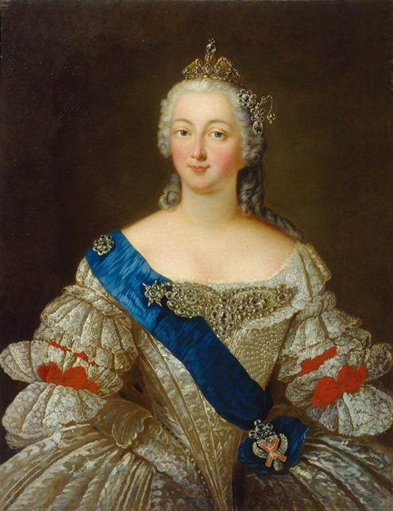 Портрет императрицы Елизаветы Петровны, автор неизвестен
