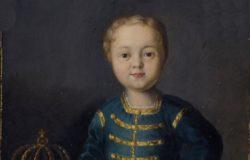 Портрет императора России Ивана VI Антоновича, автор неизвестен, миниатюра к картине