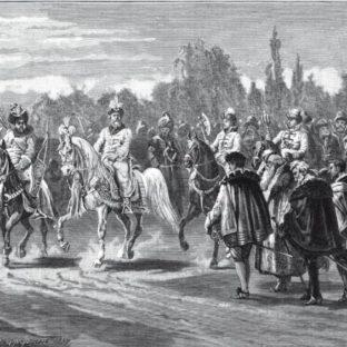 Встреча великого князя Василия III Иоанновича с послами императора Карла V под Можайском, Адольф Иосифович Шарлемань