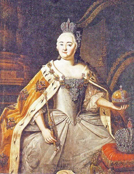 Портрет Елизаветы, Алексей Петрович Антропов