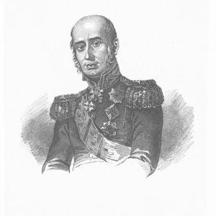 Портрет М. Б. Барклая-де-Толли, Тарас Григорьевич Шевченко