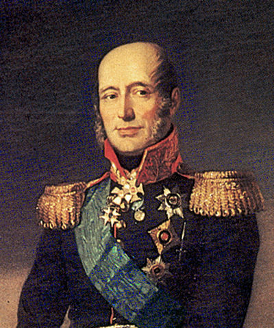 Фрагмент портрета генерал–фельдмаршала князя М. Б. Барклая де Толли для Военной галереи Зимнего дворца, Джордж Доу