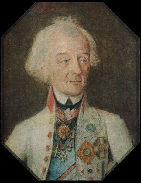 Портрет полководца Александра Васильевича Суворова, Иоганн Генрих Шмидт