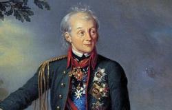 Русский фельдмаршал А. В. Суворов, Карл Карлович Штейбен