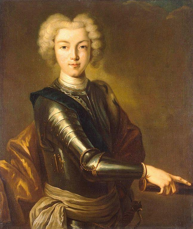 Портрет Петра II, автор неизвестен
