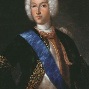 Портрет российского императора Петра II, Иоганн Генрих Ведекинд
