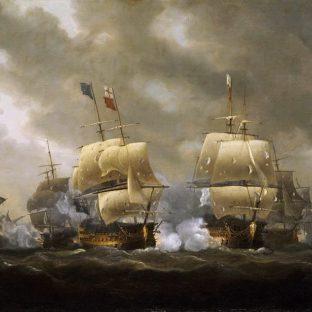 Битва в бухте Киберон, Николас Покок