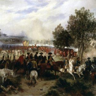 Принц Фердинанд из Брансуика во время битвы при Крефельде, Емил Гунтен