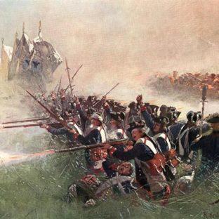 Первый батальон прусской лейб-гвардии в битве при Колине, Ричард Кетель