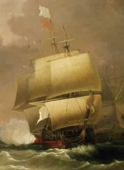 Французский флагман Королевское солнце в битве Кардиналов, Доминик Серрес