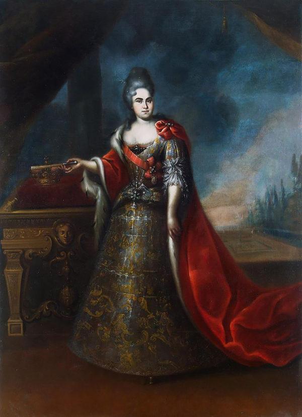 Портрет императрицы Екатерины I, автор неизвестен