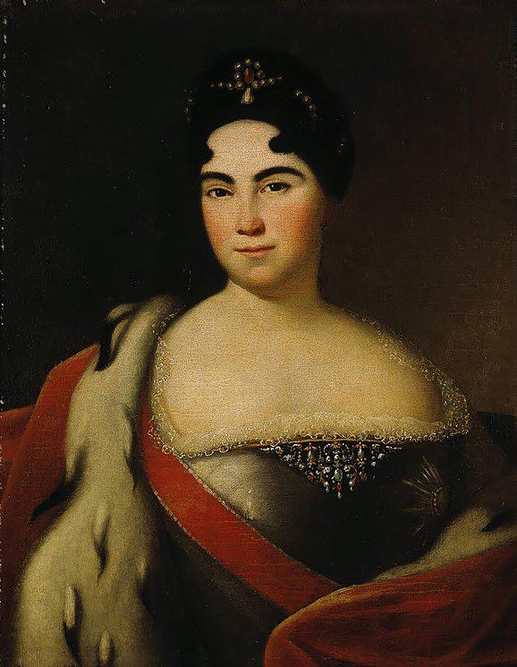 Портрет Екатерины I, автор неизвестен