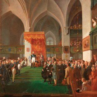 Александр I и церемония открытия в Финляндии, Роберт Вильгельм Экман