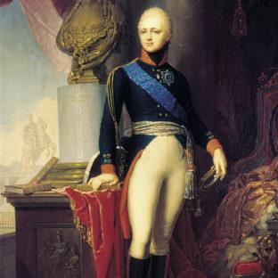 Портрет Александра I, Владимир Лукич Боровиковский