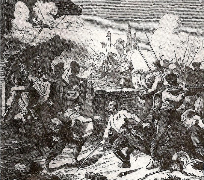 Противостояние французов и австрийцев в битве при Ваграме, Фредерик Нуле