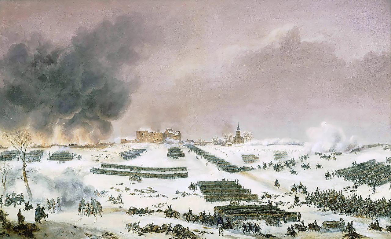 Битва при Эйлау, атака кладбища, 7 февраля 1807 года, Жан-Антуан-Симеон Форт