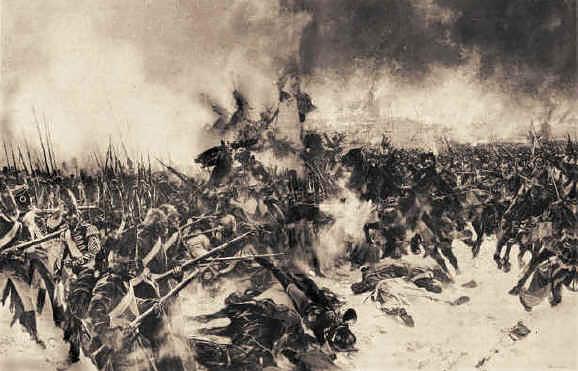Битва при Прейсиш-Эйлау, Леопольд Фламенг
