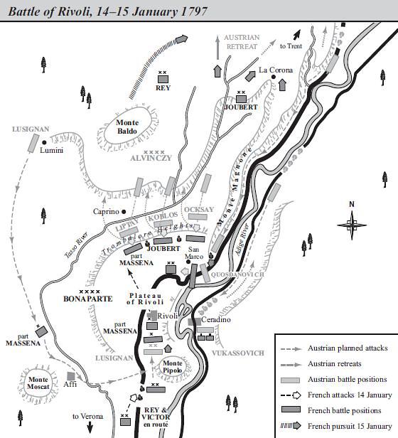 Битва при Риволи, карта, Грегори Фримонт-Барнс