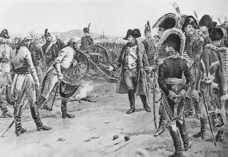 Генерал Мак сдает свою армию в Ульме, 20 октября 1805 г., Поль-Эмиль Бутиньи