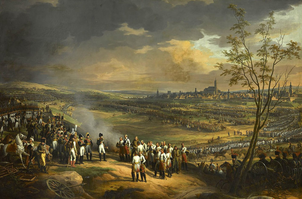 Сдача Ульма, 20 октября 1805 г. Наполеон I получает капитуляцию генерала Мака, Шарль Тевенен