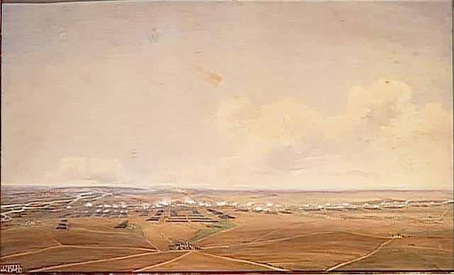 нападение французов на Ваграм 6 июля около 13:00. Жан-Антуан-Симеон Форт