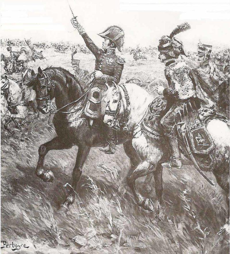 Генерал Антуан Друо в битве при Ваграме, Фредерик Нуле