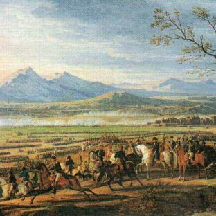 Битва при Ваграме, Эмиль Адам