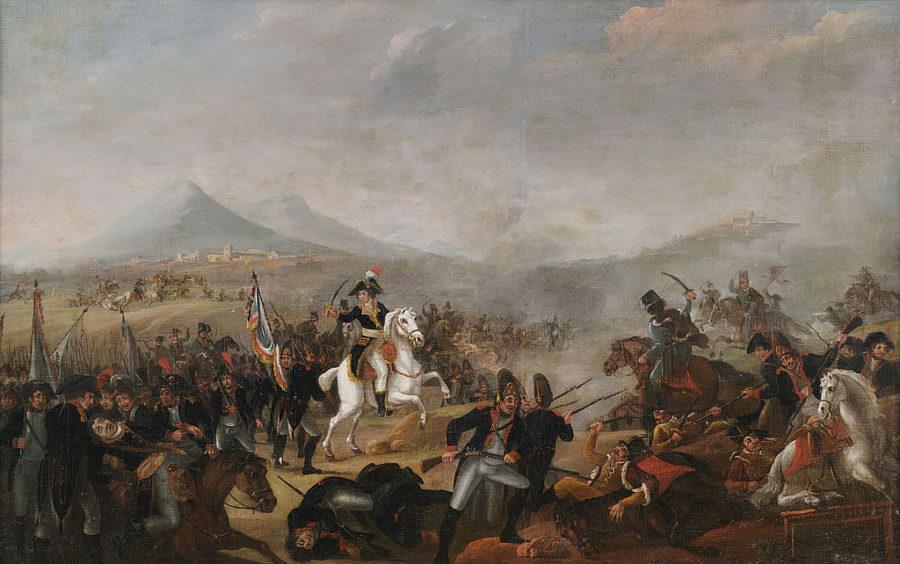 Наполеон в битве при Маренго, Жан-Симон Бертелеми