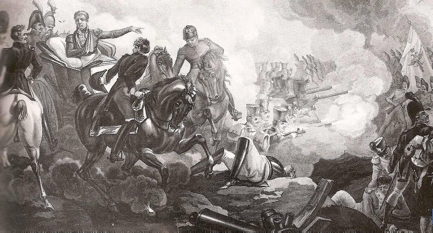 Французский маршал Массена в битве при Ваграме, Фредерик Нуле