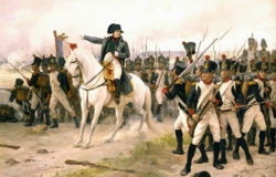 Наполеон в битве при Фриланде, Эдуард Бернар Деба-Понсан