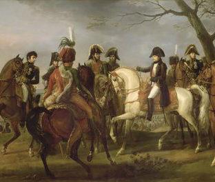 Наполеон I дает приказ перед битвой при Аустерлице, Карл Верне