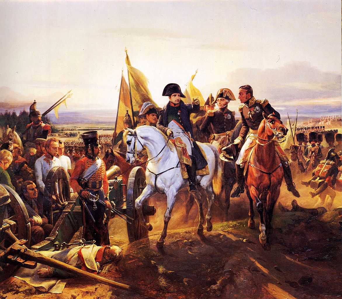 Наполеон в битве при Фридланде, Орас Верне